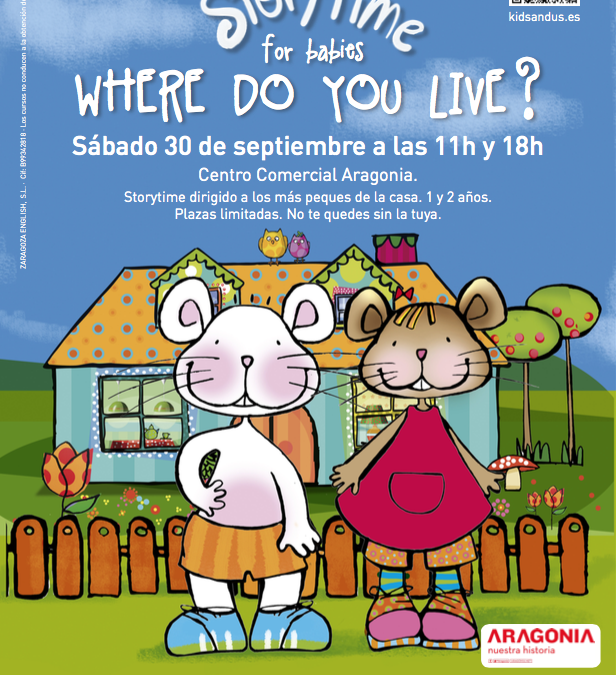 Storytimes Aragonia 30 septiembre